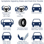 signs that something is wrong with your brakes and front end